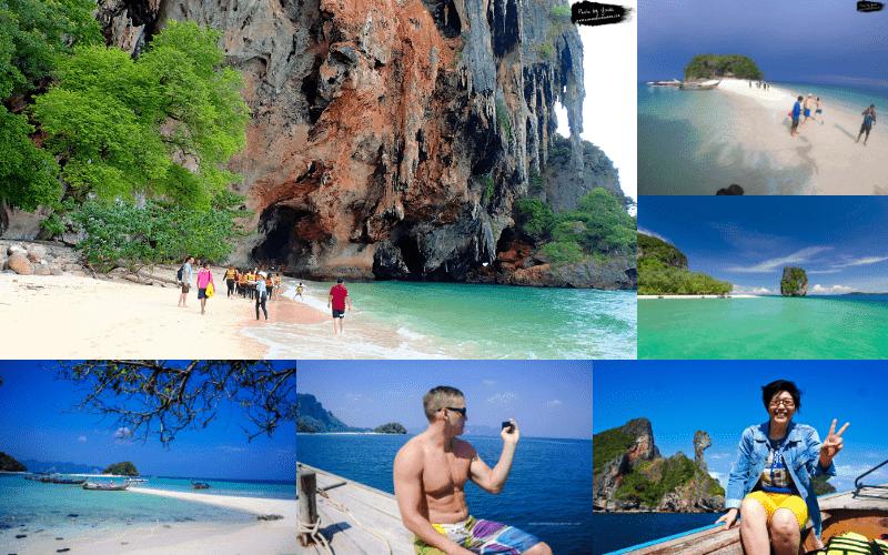 4 islands krabi thailand